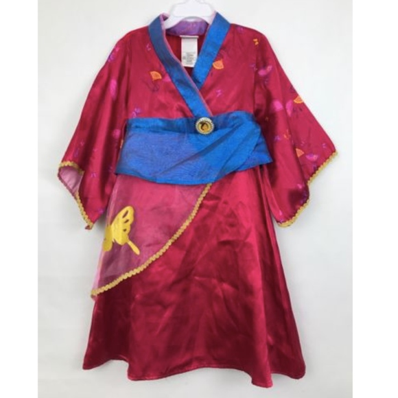 Disney Costumes Store Princess Mulan Dress Costume Xxs 23 Poshmark